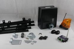 Комплект привода для автоматических раздвижных ворот DKC500AC с полимерной рейкой