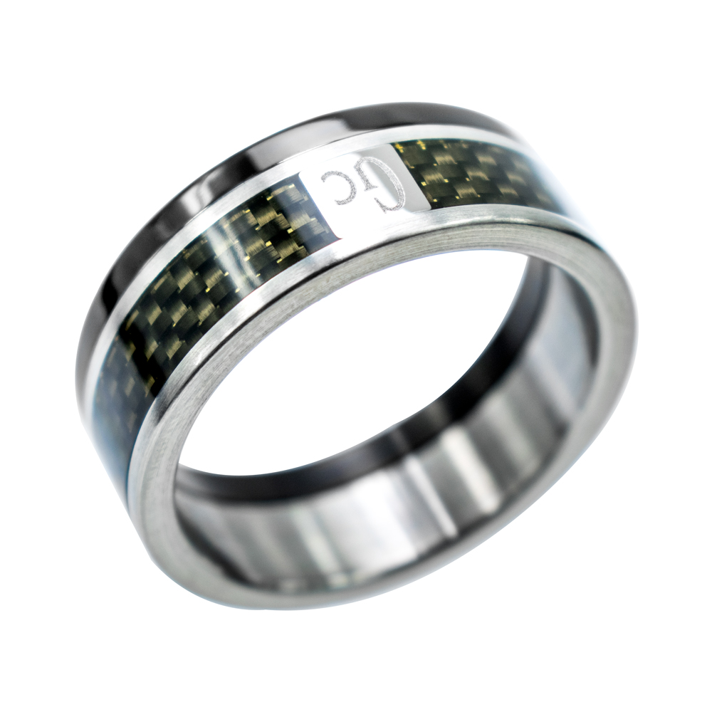 Bague homme Gc Cmr10802-64 taille (64)