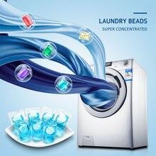 Стиральные капсулы для белья Жидкое чистящее средство для пятен пленка для стирки моющие средства капсулы Круглые бусины для одежды моющее средство для одежды