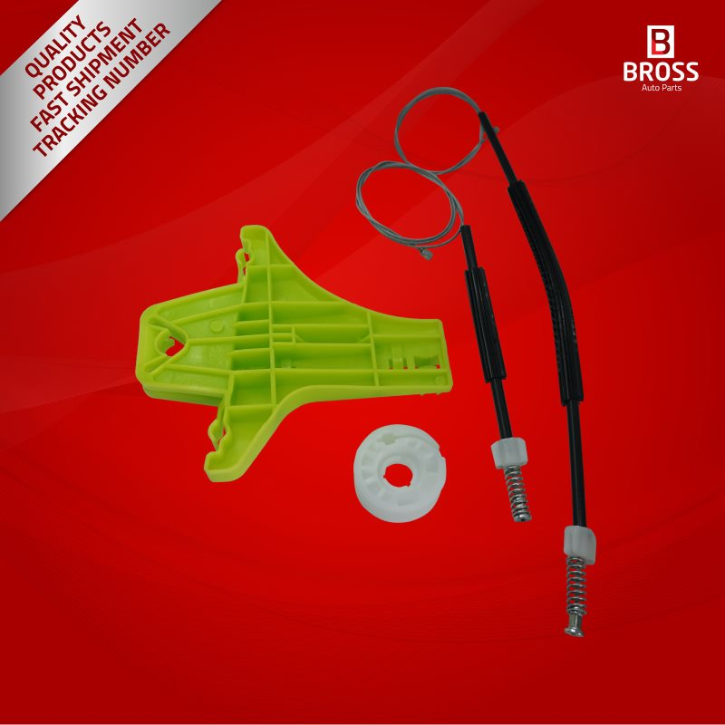 BWR5207 Window Regulator Repair Kit Rear Left 2H7839401 for Amarok|Auto Glass|Automobiles & Motorcycles - title=
