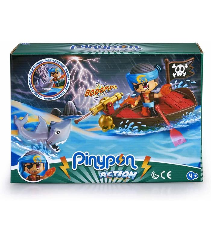 Pinypon Action. Boat Pirate Toy Store