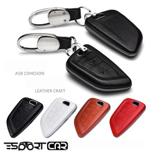 New arrival Car Remote Leather Key Case Holder Cover For BMW X1 X3 X4 X5 X6 E90 E60 E36 E93 F15 F16 F48 G30 F11 F30 Accessories boomblock zinc alloy car key cover case shell for bmw g30 f10 f30 f20 f52 g11 g12 for bmw x5 f15 x6 f16 x1 f48 x3 f25 x4 f26