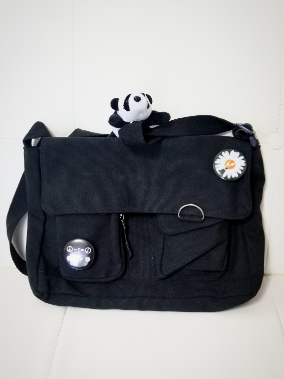 Canvas Cross body Shoulder Bag photo review