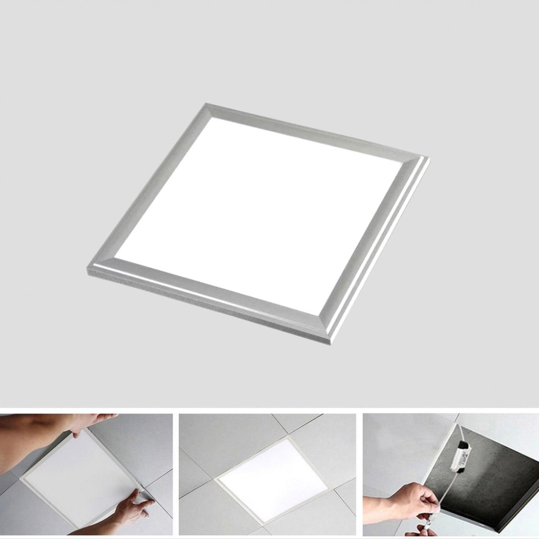 30x30cm 12W LED Panel Light Recessed Ceiling Flat Panel Downlight Lamp 12w 5700 6200k 1200 lumen 12 led white light ceiling down lamp w driver 180 262v