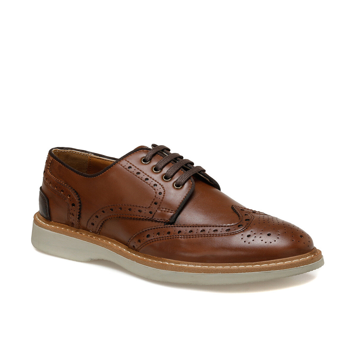 FLO 8017-3 Brown Men 'S Classic Shoes-Styles