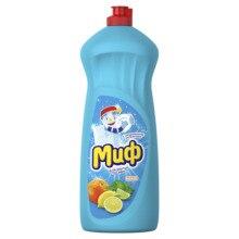 Средство для мытья посуды Миф Базовый Свежесть цитрусовых 1 л