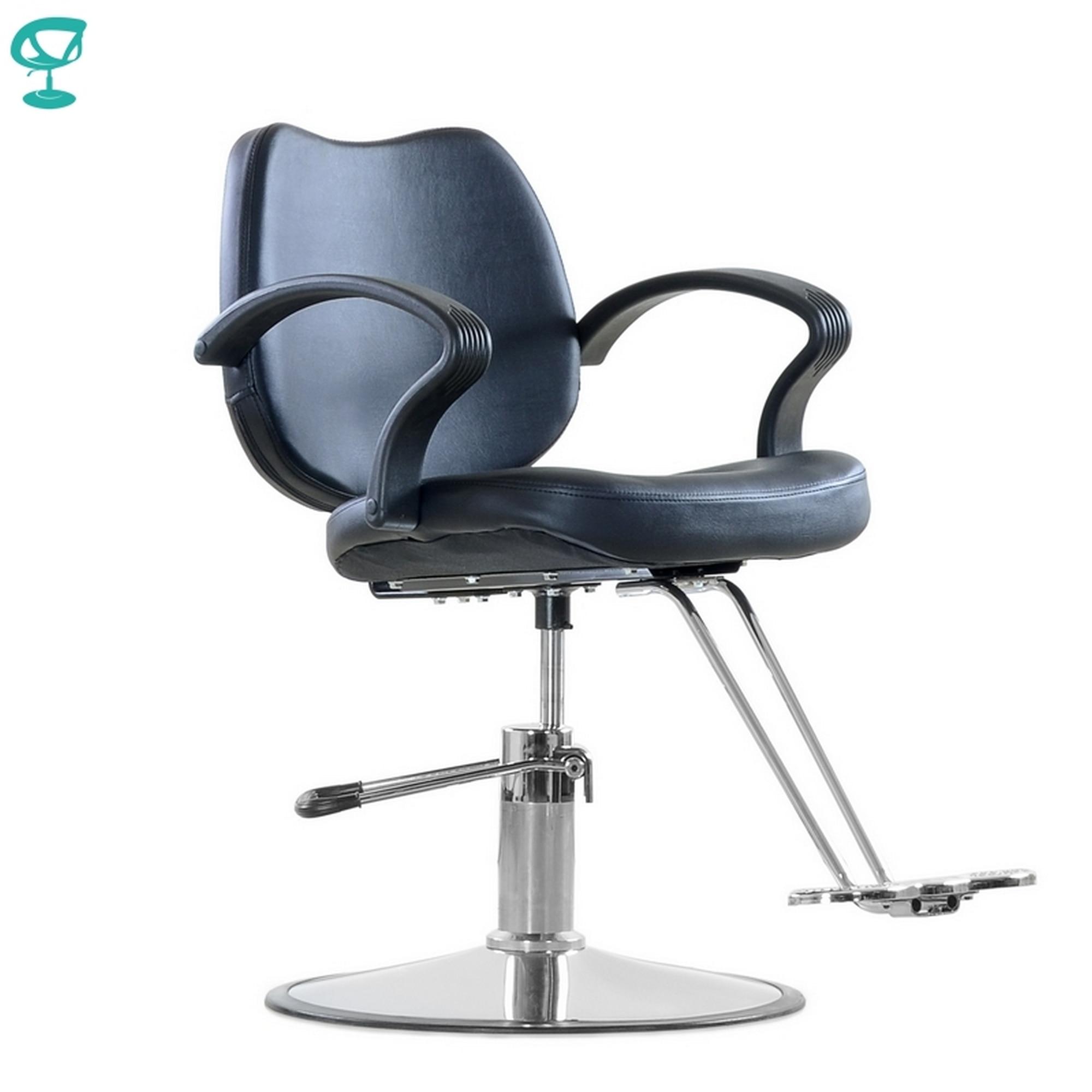 Mobilya'ten Berber Sandalyeleri'de 95708 Barneo 6219D sandalye salon sandalyesi siyah sandalye барбершопа sandalye rusya'ya ücretsiz nakliye title=