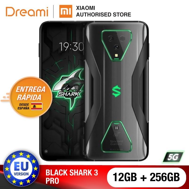 EU Version Xiaomi Black Shark 3 Pro 5G 256GB Rom 12GB Ram, 5G Gaming phone [Brand New and Sealed] Smartphone blackshark3pro