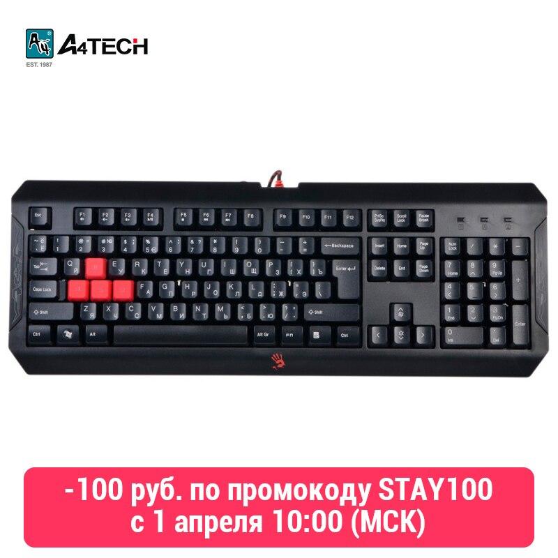 Bàn Phím A4Tech Đẫm Máu Q100 Officeacc Chơi Game title=