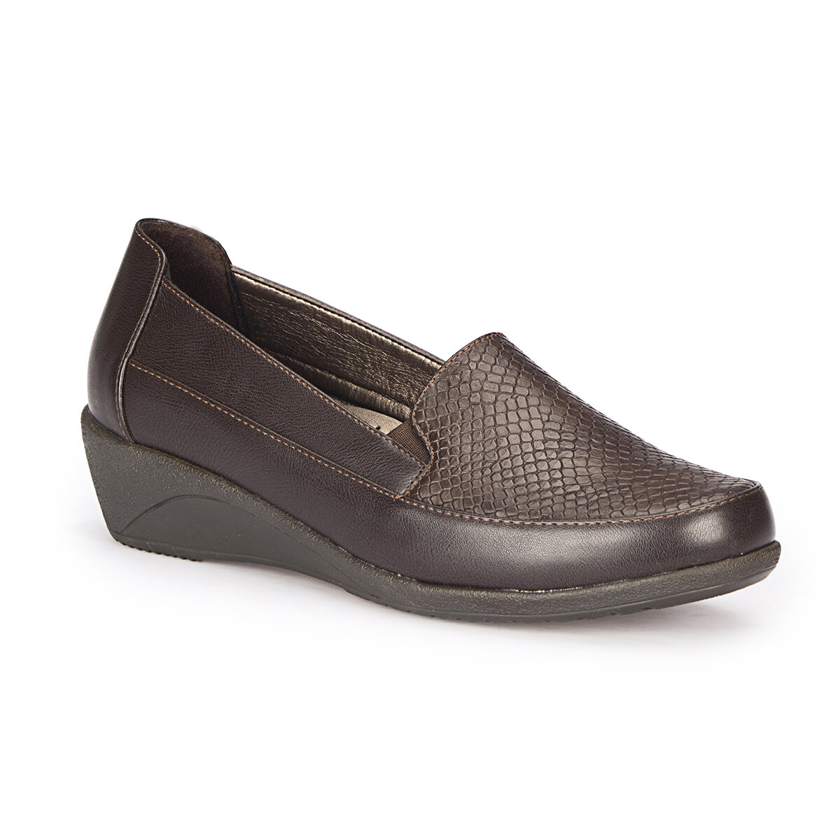FLO 72.158116.Z Burgundy Women Ökçeli Shoes Polaris