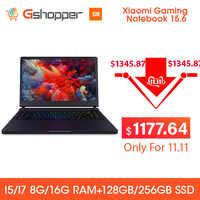 Xiao mi mi Ga mi ng ordinateur portable 15.6 FHD Intel Core I7 16G 256 go SSD 8 go DDR4 Windows 10 Quad-core NVIDIA GeForce GTX 1060 I7-7700HQ