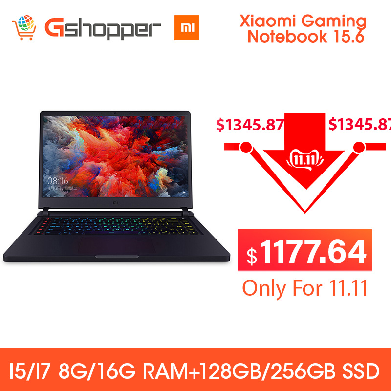 Xiaomi Mi Gaming Notebook 15.6 FHD Intel Core I7 16G 256GB SSD 8GB DDR4 Windows 10 Quad-core NVIDIA GeForce GTX 1060 I7-7700HQ image