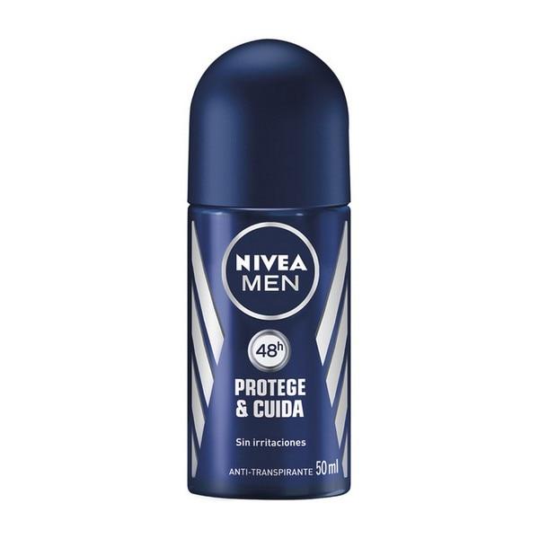 Roll-On Deodorant Men Protege & Cuida Nivea (50 Ml)