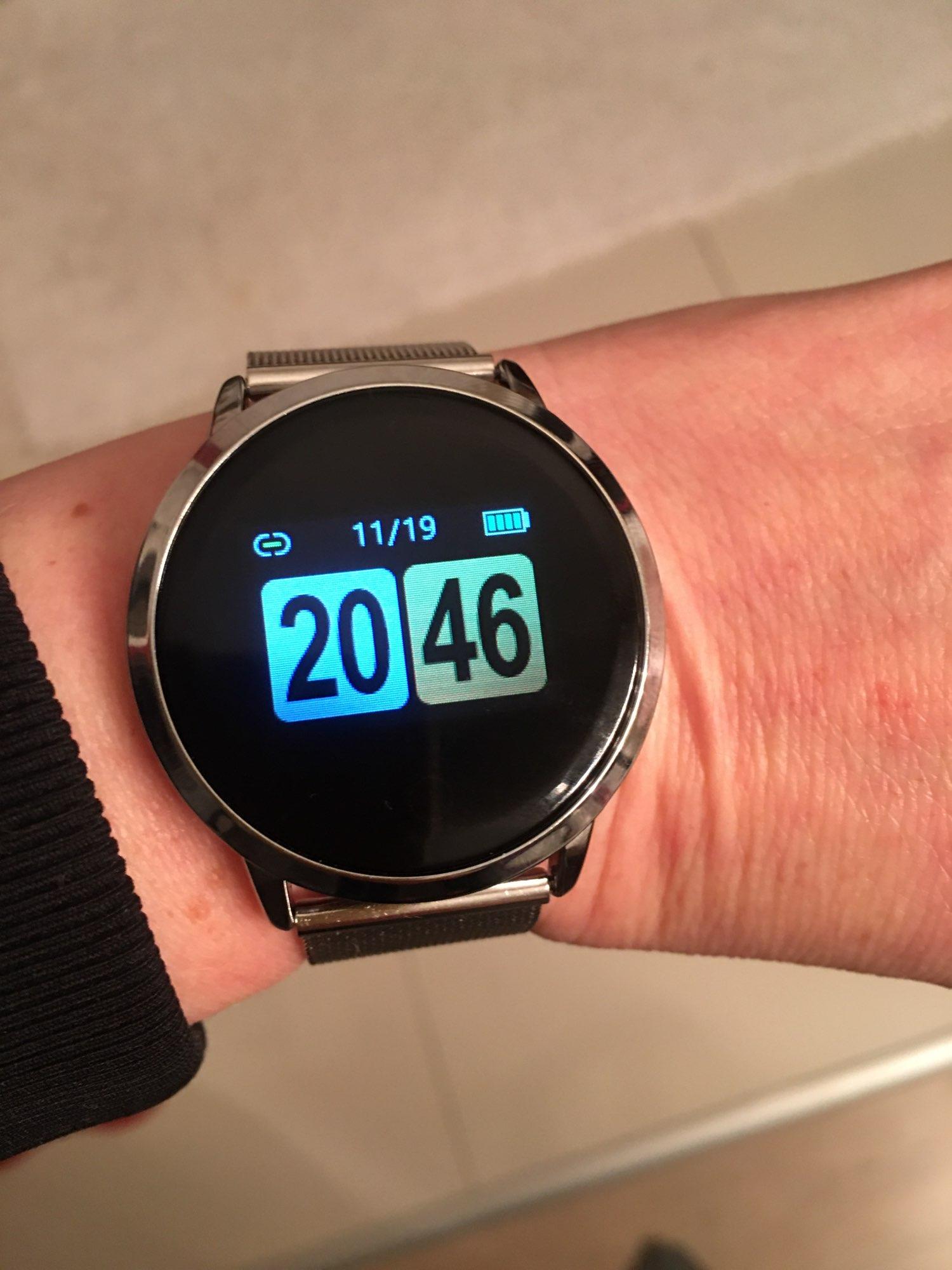 CYUC Q8 Smart Watch OLED Color Screen men Fashion Fitness Tracker Heart Rate Monitor Blood Pressure Oxygen Pedometer Smartwatch Smart Watches    - AliExpress