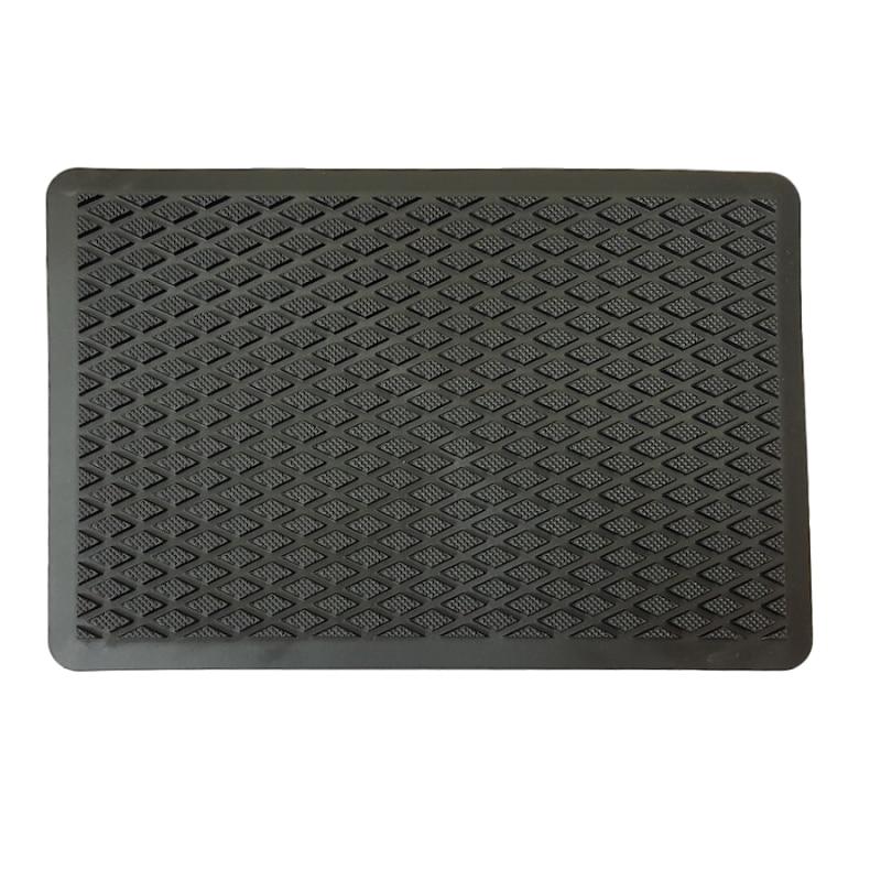 Toe for auto floor mats, toe on the mat auto, aluminum alloy +TPR, polymer pad car mats, for Eva 4