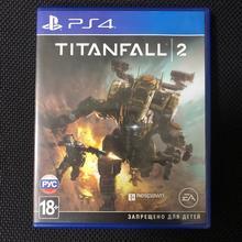 Б/У Диск для PS4 TITANFALL 2(русская озвучка