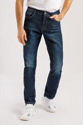 Finn Flare мужские брюки (джинсы) прямого покроя на молнии, коллекция весна-2020