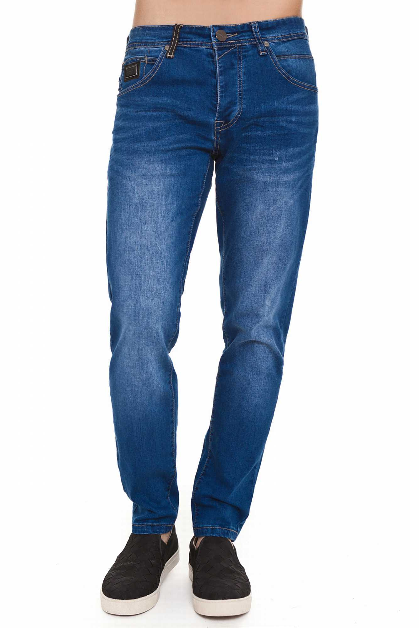 Born Rich OSMIUM Jeans For Men Dark Blue MID Wash Casual BR2B109914MW3BRC2-5