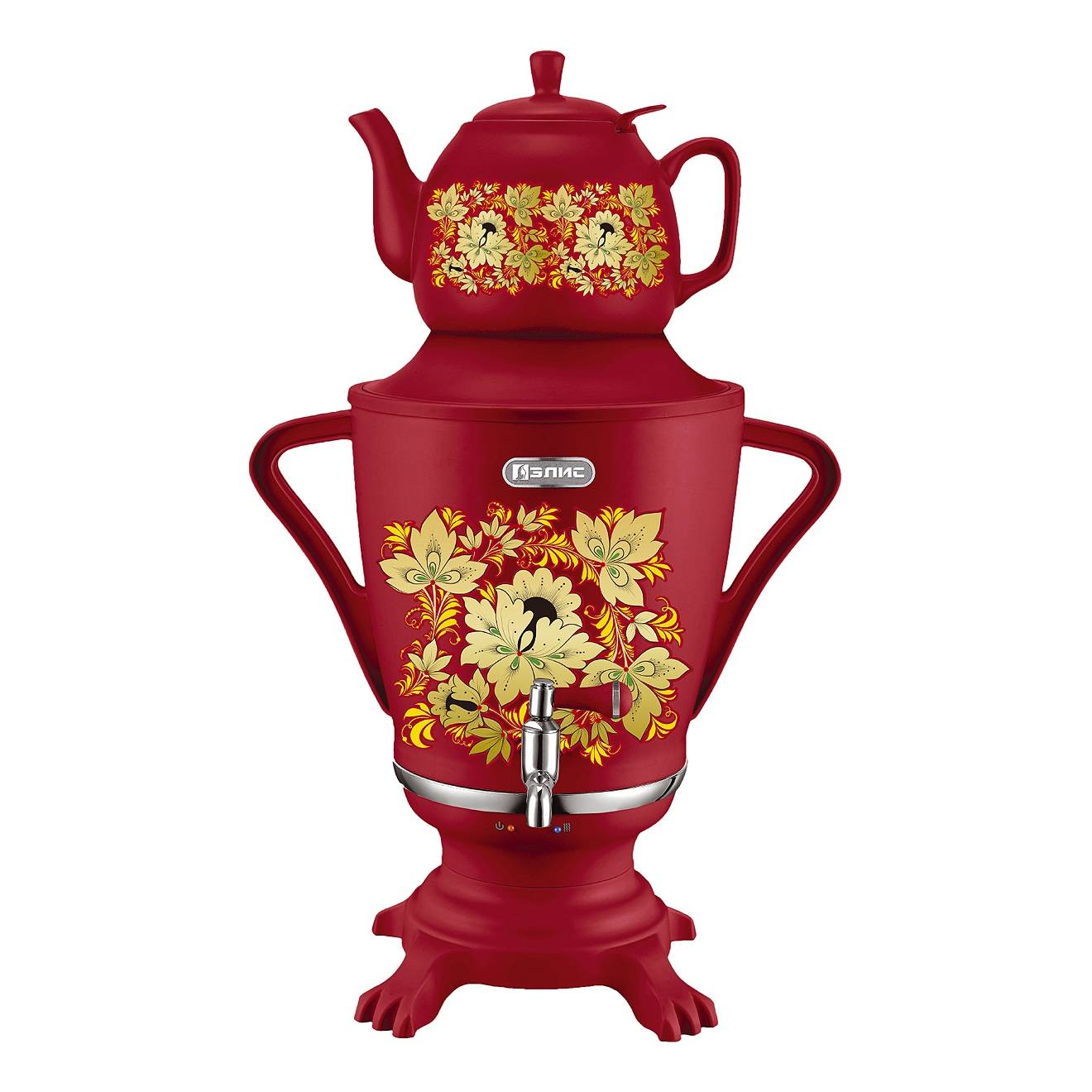 Electric samovar Alice ЭЛ-4067 (boil dry protection, automatic shut off when boiling water) samovar electric elis el 4062