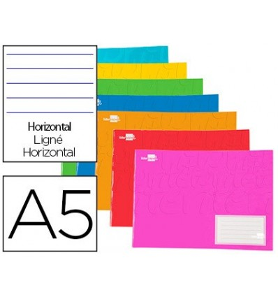 NOTEPAD LEADERPAPER WRITE A5 LANDSCAPE 32H 60G/M2 TABLE 3 MM MARGIN 20 PCs