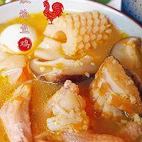 """#美食说出""""新年好""""#花胶鲍鱼鸡的做法图解8"""