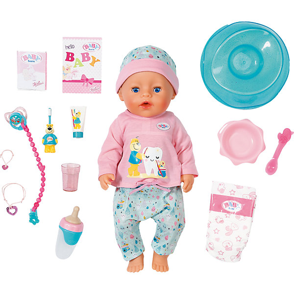 Interactive Doll Zapf Creation Baby Born Brush Our Teeth, 43 Cm