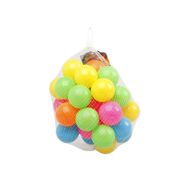 Coloured Balls For Children's Play Area 115685 (25 Uds)
