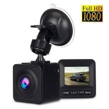 New 1.5 Inch Mini Car DVR Dashcam 1080P Full HD Auto Dash Camera 170 Degree Wide Angle Video Recorder Square Hidden Car Dash Cam 4 inch 1080p full hd car dvr dash camera 170 degree wide angle video recorder with rear view camera g sensor auto driving camera