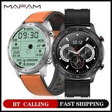 Mafam mx5 relógio inteligente masculino feminino bt5.0 chamada reprodução de música longa bateria ip68 impermeável smartwatch 3pro para xiaomi huawei iphone
