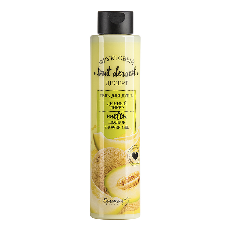 Fruit Dessert Shower Gel Melon Liquor 400g