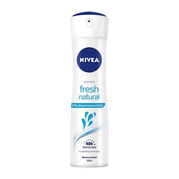 Spray Deodorant Fresh Natural Nivea (150 Ml)
