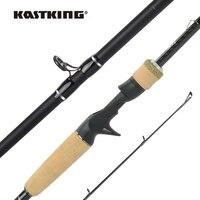 KastKing Spartacus II Neue Verbesserte Spinnerei Casting Angelrute 1,98 m 2,13 m M MH ML Power Kork Griff für bass Trout Fishing