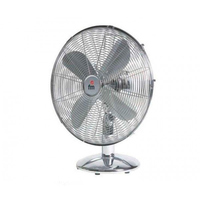 Table Fan Grupo FM SM140 50W Chrome