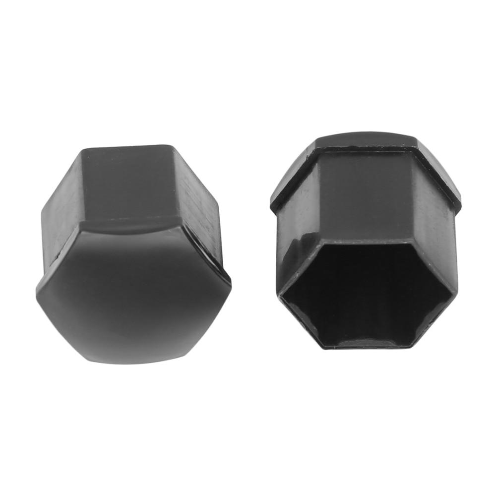 X AUTOHAUX 20pcs 19mm Univesal Gray Plastic Vehicle Wheel Nut Lug Hub Screw Rim Bolt Covers Dust Caps with Removal Tool Clip