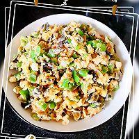 超级简单的家常菜#大葱青椒黑木耳斩蛋的做法图解7