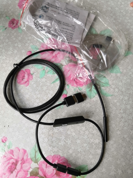 Endoscope camera for Android - Waterproof Inspections camera photo review