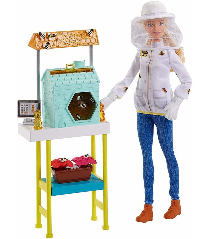Barbie I Want To Be Beekeeper Toy Store Articles Created Handbook