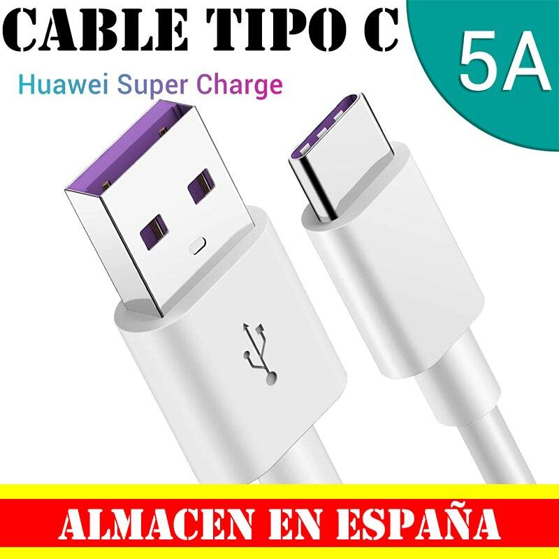 Быстрозаряжающий Кабель с разъемом USB-C Сверхбыстрые скорости передачи информации и зарядки устройства 5A 1 1,5 2 3 м кабель для передачи данных Tiopo C huawei белый