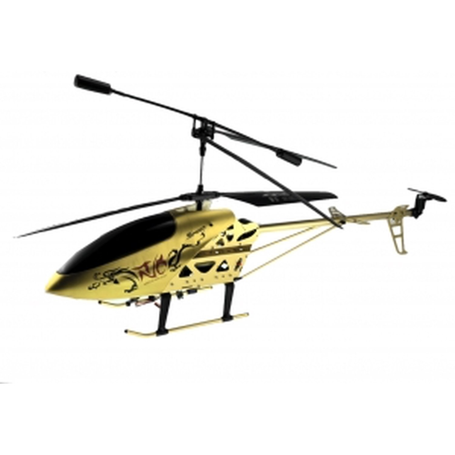 RC HELICOPTER MODEL LH-1202 (GOLD) 3.5 CHANEL, GYROSCOPE, METALLIC ALLOY