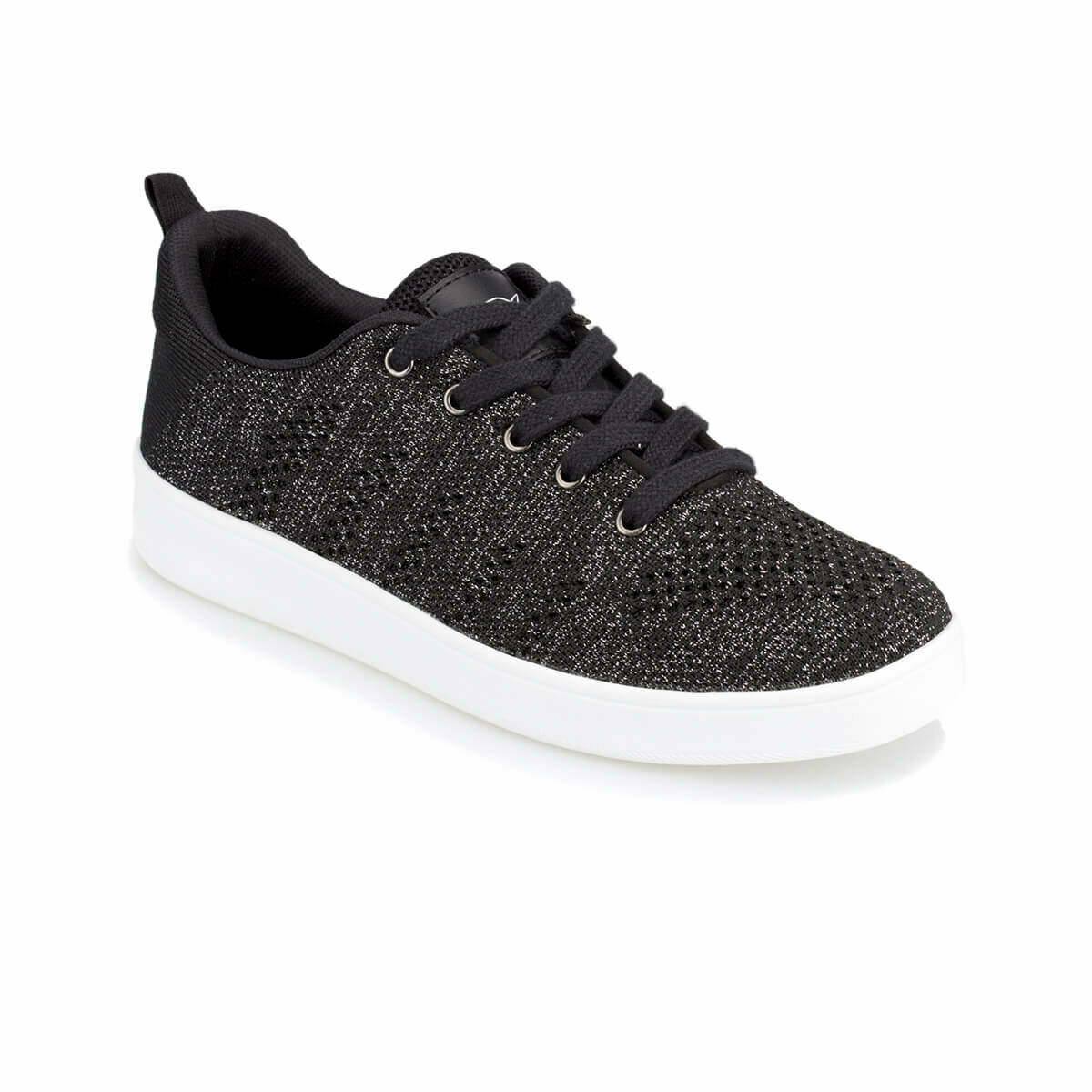 FLO ZURIH Black Women 'S Sneaker Shoes KINETIX