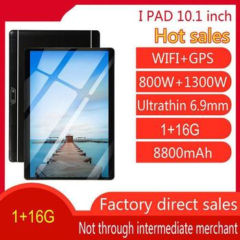 10 inch Tablet PC Quad Core 1GB RAM 16GB ROM 1.3GHz Android 8.0 WiFi GPS Dual Camera SIM Cards 3G Network Game Tablets PC anry 3g phone call tablet 10 inch 1280 x 800 mtk6580 quad core processor 1gb ram 16gb rom android tablets dual sim 10 1 phablet