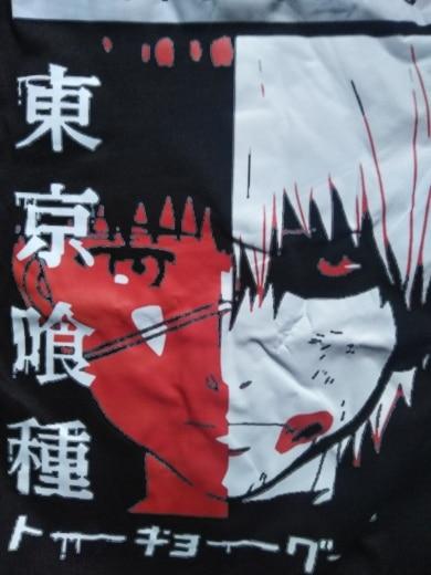 Tokyo Ghoul Anime Manga T Shirt New Funimation Kaneki Ken Cartoon Nice Loose T-shirt Women Cotton T Shirt Camiseta de mujer photo review
