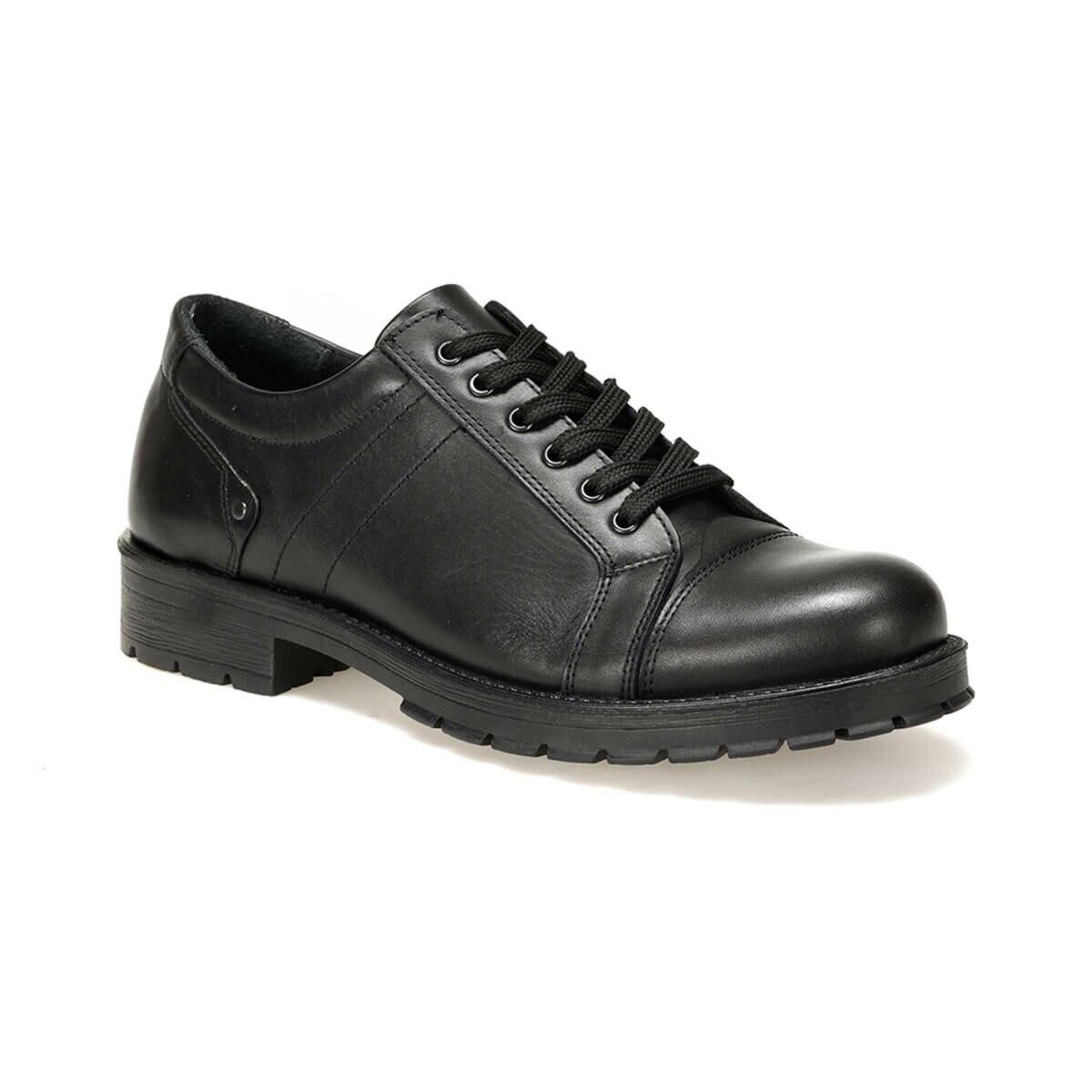 FLO 506 Black Male Shoes Oxide