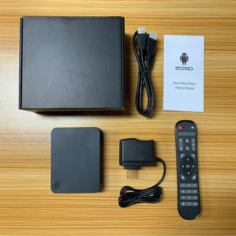 IHomeLife Android 9.0 Tv Box Amlogic S905L Quad Core 4/64Gb 4K Vp9 H.265 Dlna Hd2.0 3D Gaming Smart Tv Media Box image