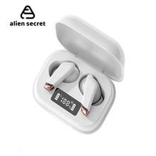 Mini branco tws bluetooth v5.0 fones de ouvido sem fio fones de alta fidelidade esportes à prova dwireless água sem fio fone de ouvido