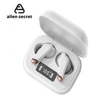 Mini White TWS Bluetooth V5.0 Earphones Wireless Headphones Earphones Hifi Sports Waterproof