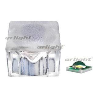 013830 Lens 50 Degrees 50DN3 CUBE (CREE) Box-50 Pcs ARLIGHT Leds Modules/Lens/SMD3535 Cree XP [Cube N4..
