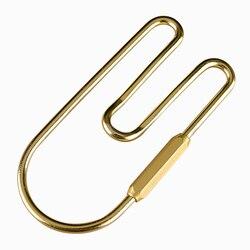 Brass Loop Keychain Car Golden Key Organizer Holder Keyring Decoration Loop Hoop Keychain Belt Hook Wallet Clip