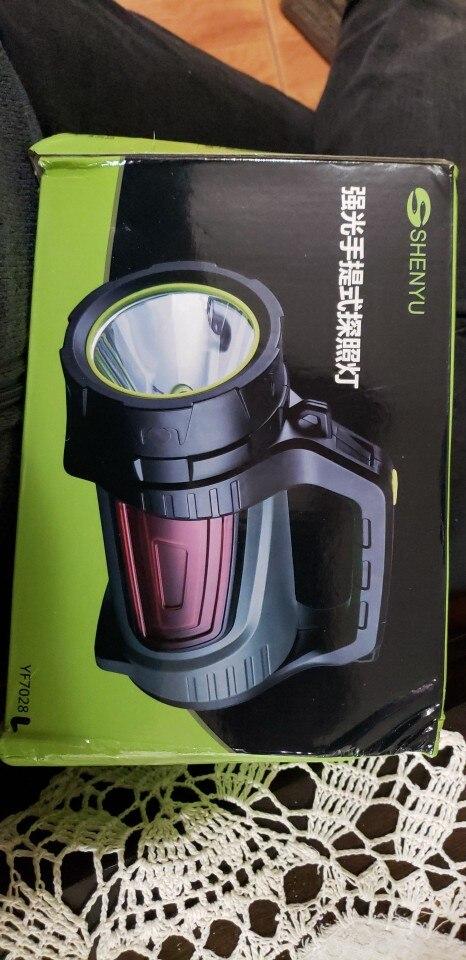 Projetores portáteis Lanterna Lâmpada Bateria