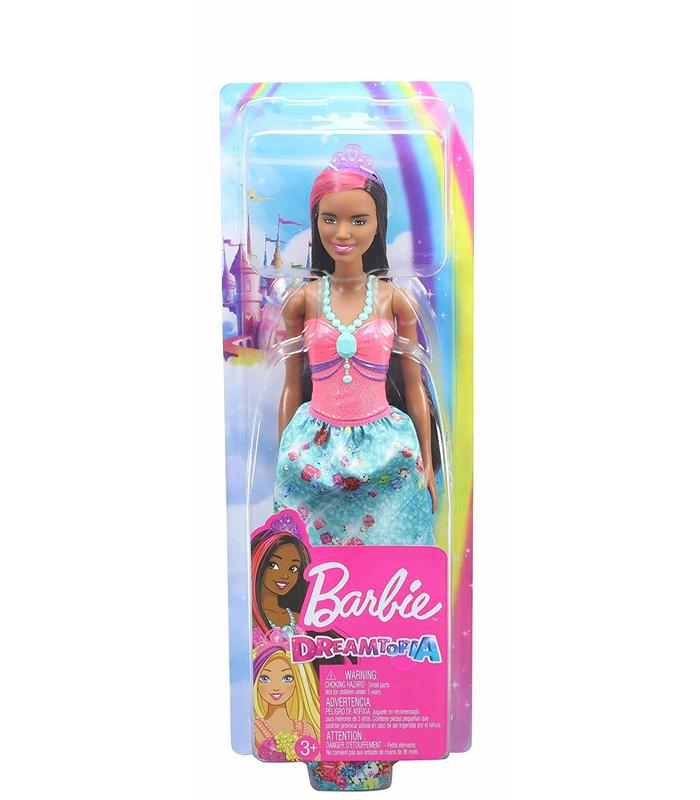 Barbie Dreamtopia Fairy With Pink Top And Skirt Printed Toy Store